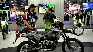 10. AIMExpo 2017 Day 1 Report - Kawasaki 2018 KLX 250, Twisted Throttle, Wolfman, and more... and more