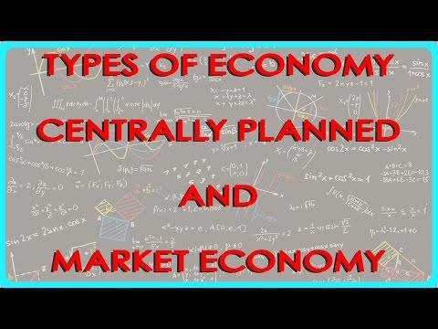 1331. Economics Klasse XI - Arten von Economy zentral geplant und Marktwirtschaft