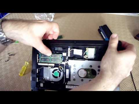 Démonter Acer Aspire One 255 et ajout de RAM