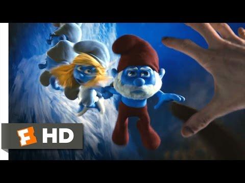 The Smurfs (2011) - Through the Blue Portal Scene (2/10)   Movieclips