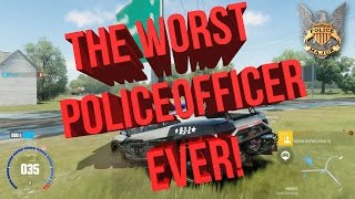 THE WORST POLICE OFFICER EVER! The Crew: Calling All Units! My First Video Game Skit?!
