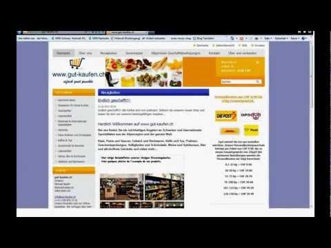 Shop-Präsentation: www. gut-kaufen.ch - Das Schweizer Internet-Kaufhaus