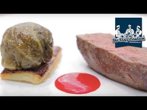 Michelin star chef Nathan Eades creates maple roasted venison, stuffed cabbage recipe