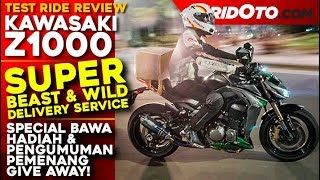 Video Kawasaki Z1000 Gampang Banget Power Wheelie dan Slide! l Test Ride Review l Gridoto MP3, 3GP, MP4, WEBM, AVI, FLV Januari 2019