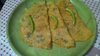 Thakkali dosa or tomato dosai