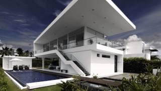 Архитектура дома GM1 House от студии Giovanni Moreno Arquitectos