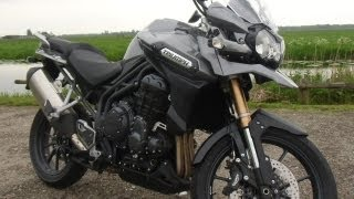 5. Triumph Tiger Explorer: Eager and Surprisingly Lightfooted