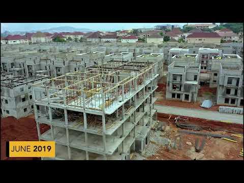 12 Months Site Progress #Wuye