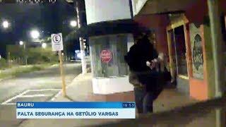 Onda de furtos preocupa comerciantes da Av. Getúlio Vargas, em Bauru