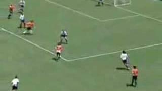 Jorge Campos schaltet sich ins Angriffsspiel ein