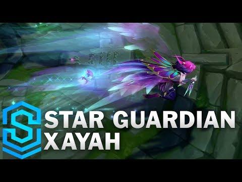 Xayah Vệ Binh Tinh Tú - Star Guardian Xayah