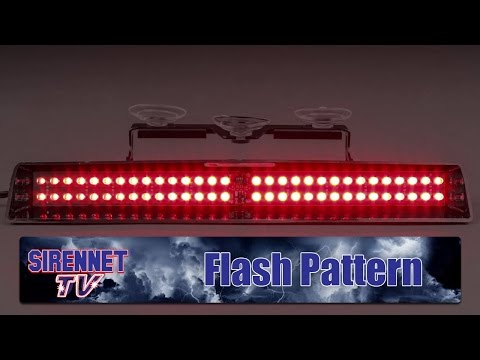 Flash Pattern: Whelen Slim-Miser LED Dash Light