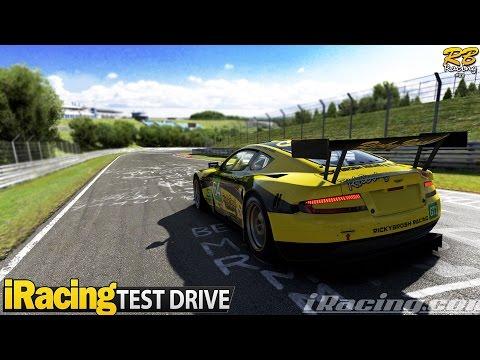 iRacing Test Drive: Aston Martin DB9 GT1 (best sounding car?) (@ Nordschleife)