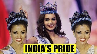 Video NOW! INDIA HAS 6 BLUE CROWNS OF MISS WORLD (After Manushi Chhillar Crowned) MP3, 3GP, MP4, WEBM, AVI, FLV November 2017