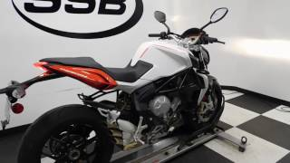 9. 2014 MV Agusta Brutale 800 White - used motorcycle for sale - Eden Prairie, MN