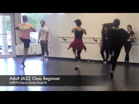 Adult JAZZ Class Beginner