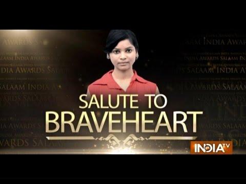 "India TV Special: ""Salaam India Awards 2014""- Sakshi Vidhyarthi 25 October 2014 11 PM"