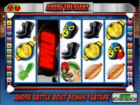 Play Andre the Giant Slot Machine Free
