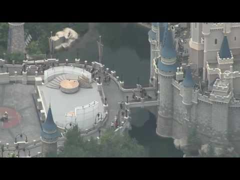 Disney vista de cima