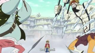 One Piece Luffy kicks Hody Hordy Jones EPISODE 557 FULL HD