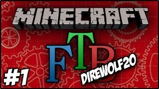 Minecraft: DireWolf20 Feed The Beast - Electric Jet Pack and Long Fall Boots #1