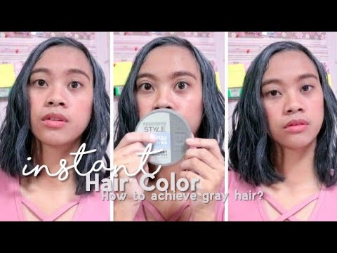 Hair color - PENSHOPPE COLORED HAIR WAX! INSTANT AND WASHABLE