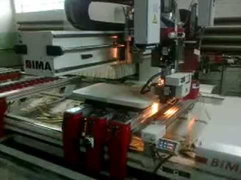 IMA Bima 400   оклейка детали вкруговую