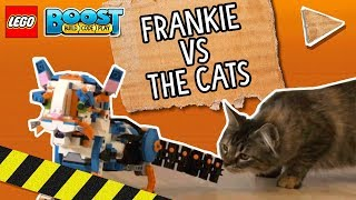 LEGO BOOST Video: Frankie vs. Cats