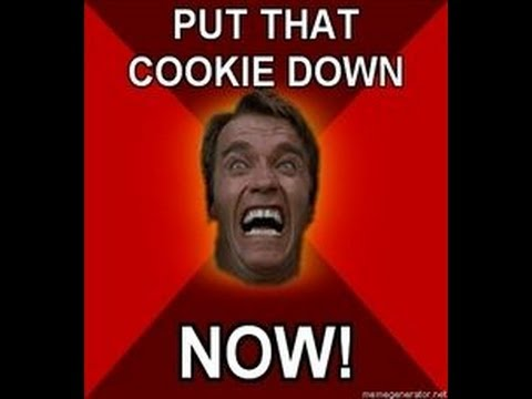 """""""Put that Cookie Down"""" – Arnold Schwarzenegger Remix"""