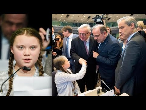 "Greta Thunberg To Eu's Juncker: ""we Started To Clean Up Your Mess, Stop Sweeping Mess Under Carpet"""