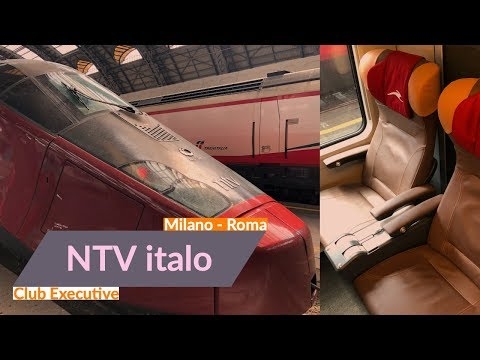 NTV italo: Italy's private high-speed train | Club Executive | Milano - Roma | Trip report