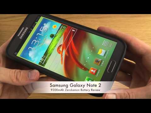 Samsung Galaxy Note 2 – 9300mAh ZeroLemon Battery Review