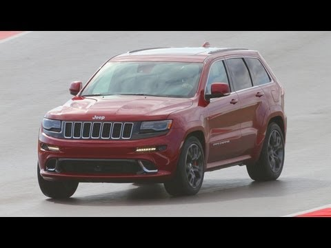 srt - We went to Austin, Texas, and the Circuit of the Americas (COTA) to sample the new track-rated aspects of the updated hot-rod SUV, the 2014 Jeep Grand Cherok...