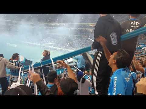 Recebimento - Grêmio 1x0 Cruzeiro - Semi final - Geral do Grêmio - Grêmio