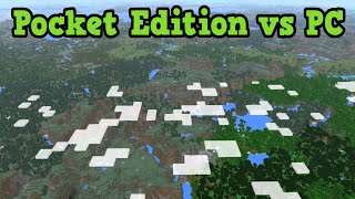 Minecraft PC vs PE & Windows 10 Edition Compared