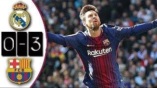 Video Real Madrid 0-3 Barcelona | Full Match | Partido Completo | Liga 2017/2018 MP3, 3GP, MP4, WEBM, AVI, FLV Agustus 2018