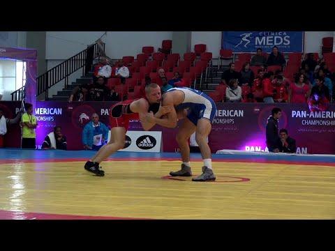 57kg s, Zach Sanders, USA vs Steven Masao, Canada