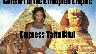 Ethiopian Empress Taitu Bitul