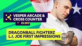 VesperArcade's Kyllie caches up with America's champion, L.I. Joe at E3 2017 to talk about his first impressions on the new...