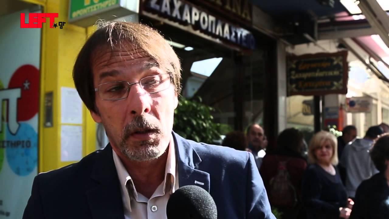 Oδός Παύλου Φύσσα -Χρήστος Βρεττάκος, δήμαρχος Κερατσινίου-Δραπετσώνας