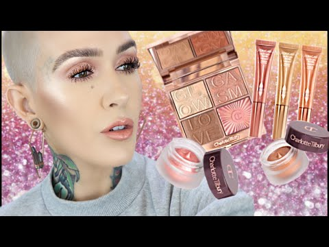 NEW Charlotte Tilbury Glowgasm Collection Review, Demo and Comparisons
