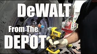 DeWALT DCF894 Mid Range Impact Wrench from Home Depot