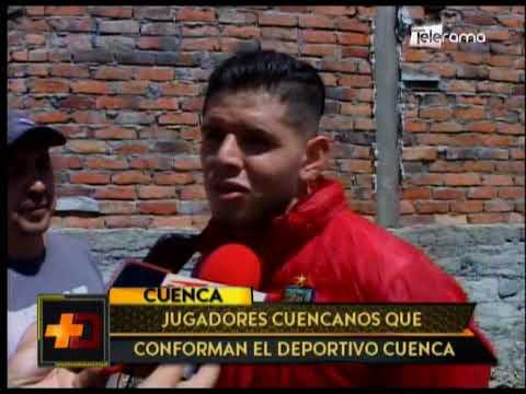 Jugadores cuencanos que conforman el Deportivo Cuenca