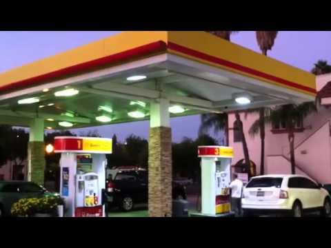 Shell Gas station  Redlands CA