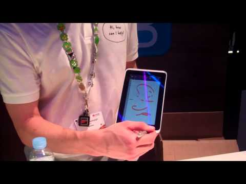 MWC11 HTC Tablet