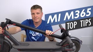 Video Five Tips To Get The Most Out Of Your Xiaomi Mi M365 Electric Scooter MP3, 3GP, MP4, WEBM, AVI, FLV Oktober 2018