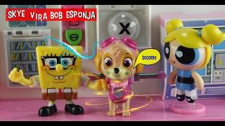 Lindinha das Meninas Superpoderosas transforma Skye em Bob Esponja e Bob Esponja em Skye da Patrulha Canina - Paw Patrol.Será que eles vão voltar ao normal. Eu quero saber: então assista o vídeo e divirtam-se:Patrulha Canina, Paw Patrol! Em PortuguêsInscreva no canal: http://www.youtube.com/c/BingBongToysBRFacebook: https://www.facebook.com/BingBongToys/Assista também:Tartarugas Ninjas salvam Patrulha Canina do Homem Mosca - Paw Patrol: https://youtu.be/PRw5RyQLHTUSkye e Rubble Patrulha da Canina fazem bagunça com tinta - Paw Patrol! Tinta! Em Português: https://youtu.be/LNaf3OIIVN0Skye da Patrulha Canina machuca a patinha e é salva por Chase e Doutora Brinquedos! Em Português: https://youtu.be/nIKNdoh8TCsSuper Marshall da Patrulha Canina salva Batman e Homem Aranha Paw Patrol! Em Portugês: https://youtu.be/Ad4yBUY0S9IPatrulha Canina salva Homem Aranha que encolheu - Paw Patrol! Em Portugês: https://youtu.be/MXX3mRaF5lwPatrulha Canina brinca no Lago de Chocolate e Zuma tem dor de barriga - Paw Patrol! Em Português: https://youtu.be/qZwXoFPrWYcPatrulha Canina no Acampamento Assombrado da Dora Aventureira - Paw Patrol! Em Portugues: https://youtu.be/6A1yOQmoioIPlaylistMasha eo Urso: https://www.youtube.com/playlist?list=PLZReUvGNig6hhuJTw-G7UQy8SppzRzM7LPeppa e seus amigos: https://www.youtube.com/playlist?list=PLZReUvGNig6iUJvW6N_Vw9Hb1Bu9CRWb_Epidemic Sound Audio Library  https://epidemicsound.com
