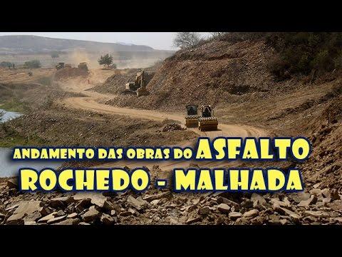 Asfalto Rochedo, Guassussê, Igarói e Malhada - Com ramal interligando Palestina