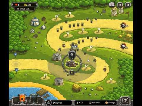 Kingdom Rush Level 3 Heroic Challenge Walkthrough Highspeed