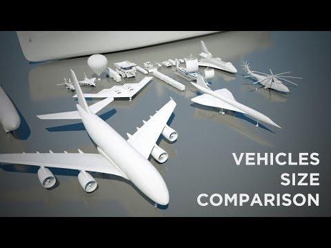 Vehicles Size Comparison